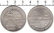 Изображение Монеты Словакия 200 крон 2002 Серебро UNC