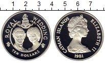Изображение Монеты Великобритания Каймановы острова 10 долларов 1981 Серебро Proof
