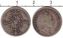 Изображение Монеты Швеция 20 сентаво 1848 Серебро VF