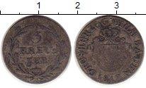 Изображение Монеты Баден 3 крейцера 1817 Серебро VF