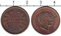 Изображение Монеты Германия Баден 1 крейцер 1829 Медь XF