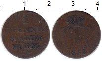 Изображение Монеты Ганновер 1 пфенниг 1752 Медь VF