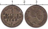 Изображение Монеты Пруссия 1 грош 1826 Серебро XF