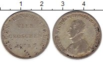 Изображение Монеты Германия Пруссия 1/6 талера 1817 Серебро VF