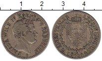 Изображение Монеты Германия Пруссия 1/6 талера 1844 Серебро XF-