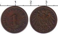 Изображение Монеты Германия 1 пфенниг 1893 Медь XF G