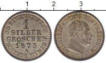 Изображение Монеты Германия Пруссия 1 грош 1873 Серебро UNC-