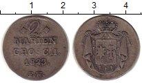 Изображение Монеты Германия Вальдек-Пирмонт 2 гроша 1823 Серебро XF-
