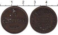 Изображение Монеты Италия Тоскана 5 кватрино 1829 Медь XF