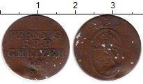 Изображение Монеты Германия Рейсс-Оберграйц 1 пфенниг 1813 Медь VF