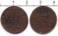 Изображение Монеты Германия Восточная Фризия 1/4 стюбера 1754 Медь VF