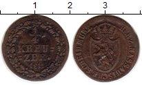 Изображение Монеты Германия Нассау 1/4 крейцера 1811 Медь XF