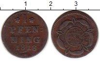 Изображение Монеты Германия Липпе-Детмольд 1 пфенниг 1818 Медь VF
