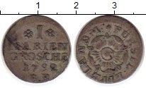 Изображение Монеты Липпе-Детмольд 1 мариенгрош 1792 Серебро VF