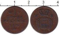 Изображение Монеты Германия Шаумбург-Гессен 1 пфенниг 1826 Медь VF