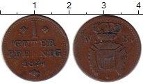 Изображение Монеты Германия Шаумбург-Гессен 1 пфенниг 1824 Медь VF