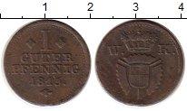 Изображение Монеты Германия Шаумбург-Гессен 1 пфенниг 1815 Медь XF-
