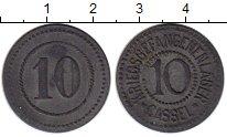 Изображение Монеты Германия : Нотгельды 10 пфеннигов 0 Цинк XF Кассель. Лагерь воен