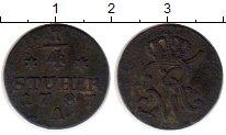 Изображение Монеты Германия Фрисландия 1/4 стюбера 1787 Медь VF