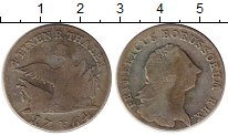 Изображение Монеты Германия Пруссия 1/4 талера 1764 Серебро VF
