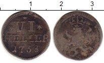 Изображение Монеты Гессен-Кассель 6 геллеров 1738 Серебро VF