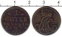 Изображение Монеты Германия Саксен-Веймар-Эйзенах 1 пфенниг 1753 Медь VF