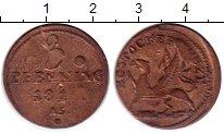 Изображение Монеты Росток 3 пфеннига 1815 Медь XF