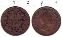 Изображение Монеты Германия Баден 1 крейцер 1831 Медь XF