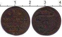 Изображение Монеты Германия Бранденбург 1 пфенниг 1781 Медь VF