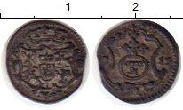 Изображение Монеты Германия Саксония 1 пфенниг 1755 Серебро VF