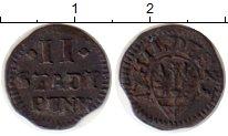 Изображение Монеты Германия Хильдесхайм 2 пфеннига 1723 Серебро VF