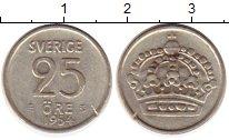 Изображение Монеты Европа Швеция 25 эре 1954 Серебро XF