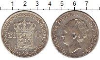 Изображение Монеты Европа Нидерланды 2 1/2 гульдена 1930 Серебро XF