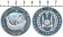 Изображение Монеты Джибути 100 франков 1996 Серебро Proof- Открытие Джибути