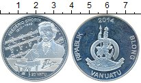 Изображение Монеты Австралия и Океания Вануату 20 вату 2014 Серебро Proof-