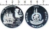 Изображение Монеты Австралия и Океания Вануату 50 вату 1993 Серебро Proof