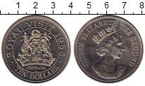 Изображение Монеты Северная Америка Гренада 10 долларов 1985 Медно-никель UNC-