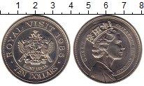 Изображение Монеты Сент-Люсия 10 долларов 1985 Медно-никель UNC-