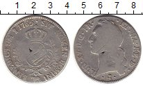 Изображение Монеты Европа Франция 1 экю 1765 Серебро VF