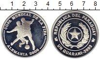 Изображение Монеты Парагвай 1 гуарани 2003 Серебро Proof