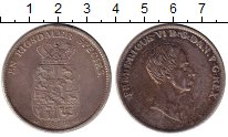 Изображение Монеты Европа Дания 1 ригсдалер 1839 Серебро XF