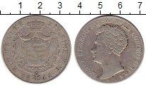 Изображение Монеты Германия Саксен-Кобург-Готта 1 талер 1844 Серебро XF-
