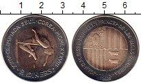 Изображение Монеты Андорра 2 динерс 1985 Биметалл UNC-