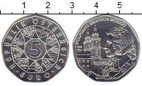 Изображение Мелочь Европа Австрия 5 евро 2006 Серебро UNC-