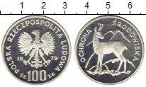 Изображение Монеты Польша 100 злотых 1979 Серебро Proof-