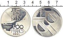 Изображение Монеты Европа Франция 100 франков 1994 Серебро Proof-