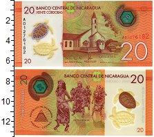 Изображение Банкноты Никарагуа 20 кордоба 2014 Пластик UNC