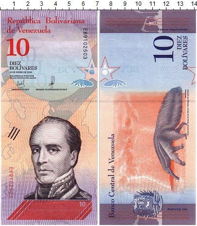 Изображение Банкноты Венесуэла 10 боливар 2018  UNC