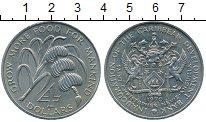 Изображение Монеты Северная Америка Ангилья 4 доллара 1970 Медно-никель UNC-