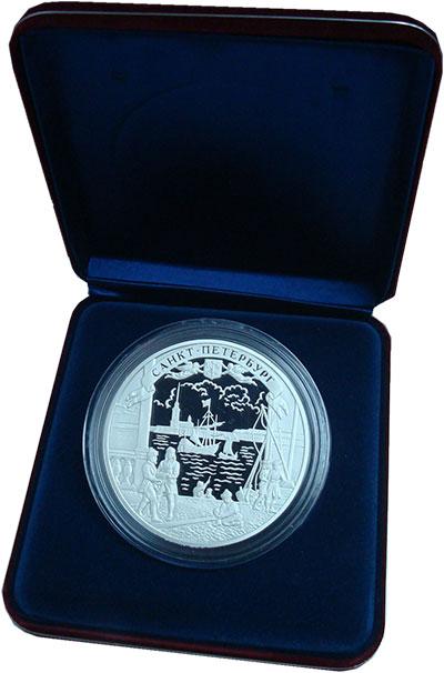 Изображение Монеты СНГ Россия 100 рублей 2003 Серебро Proof
